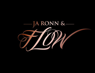 JA RONN & FLOW LOGO metallic